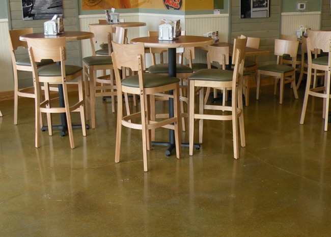 Polished Concrete Floor - Jersey Mike