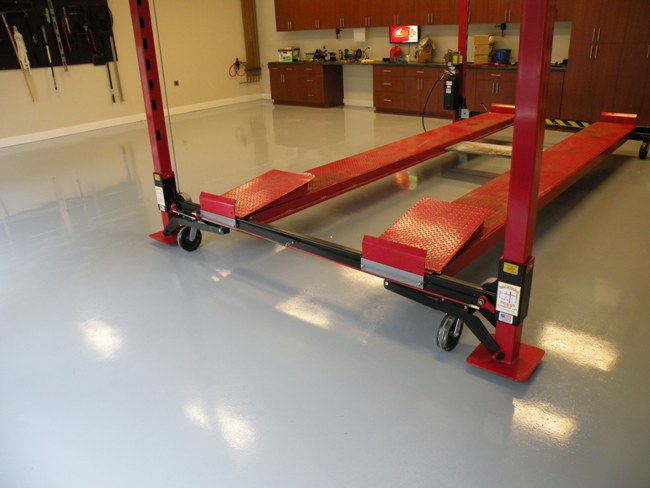 Epoxy Garage Floor Finishes